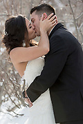Lake Tahoe wedding photography, destination wedding photography, bride and groom, first look.