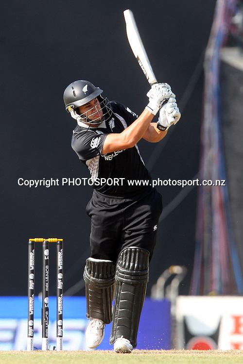 Ross Taylor. ICC Cricket World Cup. New Zealand vs Paksitan. Pallekele Cricket Stadium, Kandy, Sri Lanka. Tuesday 8 March 2011. Photo: photosport.co.nz