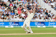 Ben Stokes of England appeals for an lbw which is given not out during second day of the Specsavers International Test Match 2018 match between England and India at Edgbaston, Birmingham, United Kingdom on 2 August 2018. Picture by Graham Hunt.
