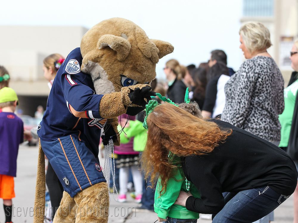 March 14, 2015: The O'City St. Patrick's Day parade takes place in downtown <br /> Bricktown area of Oklahoma City.