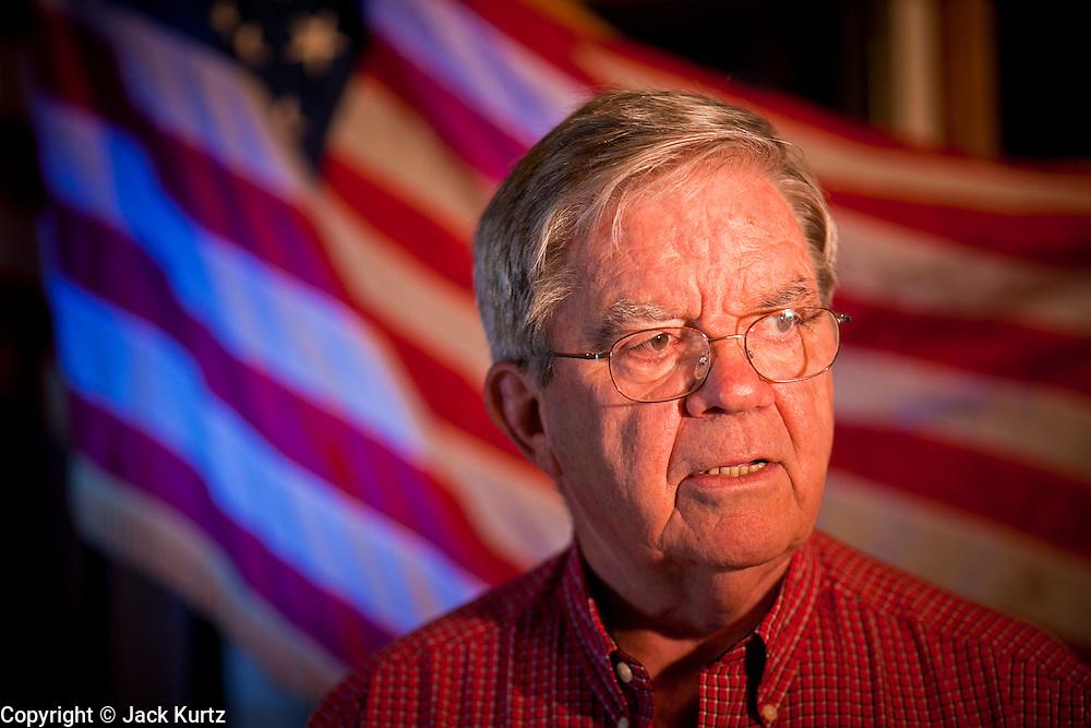 27 OCTOBER 2011 - GILBERT, AZ: Bob Kenney (CQ) at the American Legion Hall in Gilbert, AZ, Thursday, Oct. 27.    PHOTO BY JACK KURTZ