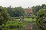 Dalswinton House seen from across the loch