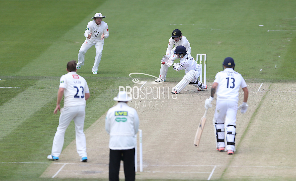 Adam Wheater during the LV County Championship Div 1 match between Sussex County Cricket Club and Hampshire County Cricket Club at the BrightonandHoveJobs.com County Ground, Hove, United Kingdom on 8 June 2015.