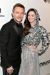 February 24, 2019 - West Hollywood, CA, USA - LOS ANGELES - FEB 24:  Chris Hardwick, Lydia Hearst at the Elton John Oscar Viewing Party on the West Hollywood Park on February 24, 2019 in West Hollywood, CA (Credit Image: © Kay Blake/ZUMA Wire)