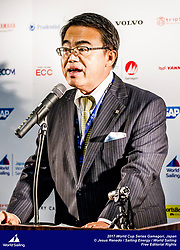 The opening event of Sailing's 2017-18 World Cup Series is in Gamagori, Japan. Held from 15-22 October 2017, more than 250 sailors from 39 nations will race in eight Olympic sailing events. Shokichi Inaba – Mayor of Gamagori