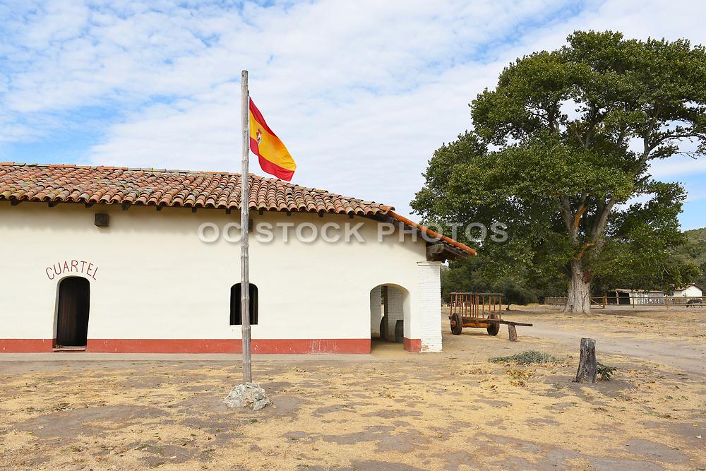 Cuartel Flag at La Purisima Mission