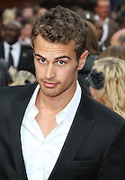 Theo James The Inbetweeners Movie world premiere, Vue Cinema, Leicester Square, London, UK, 16 August 2011:  Contact: Rich@Piqtured.com +44(0)7941 079620 (Picture by Richard Goldschmidt)