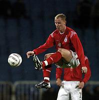 Fotball<br /> VM-kvalifisering<br /> Azerbaijan / Aserbaijan v England<br /> 13.10.2004<br /> Foto: BPI/Digitalsport<br /> NORWAY ONLY<br /> <br /> 13/10/2004 Azerbaijan v England, World Cup Qualifier, Tofiq Berhamov Stadium<br /> <br /> Nicky Butt