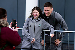 Filip Benkovic of Bristol City arrives at  prior to kick off - Mandatory by-line: Ryan Hiscott/JMP - 22/02/2020 - FOOTBALL - Ashton Gate - Bristol, England - Bristol City v West Bromwich Albion - Sky Bet Championship
