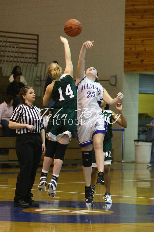 The Girls JV Basketball team lost to Wilson Memorial tonight 45-18. Cierra Wise led Madison with 8 points and Samantha Cubbage had 6 points. Madison (0-9) ..MCHS JV Girls Basketball.vs Wilson Memorial.12/29/2007.