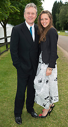 Anthony Head and his daughter Daisy  at the Cartier Queens Cup Polo held at the Guards Polo Club in Windsor, Sunday 17th June 2012  Photo by: i-Images