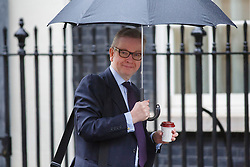 © licensed to London News Pictures. London, UK 29/01/2014. Education Secretary<br /> Michael Gove is seen on Downing Street, London on Wednesday, 29 January, 2014. Photo credit: Tolga Akmen/LNP