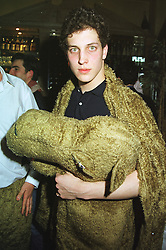 LORD FREDERICK WINDSOR at a party in London on 25th March 1999.MPT 90