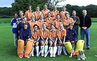 Dames I HC Bloemendaal seizoen 2000-2001. Bloemendaal Dames 1 2000-2001. COPYRGHT KOEN SUYK