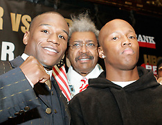 February 7, 2006 - Floyd Mayweather vs Zab Judah Presser - New York Palace, New York, NY