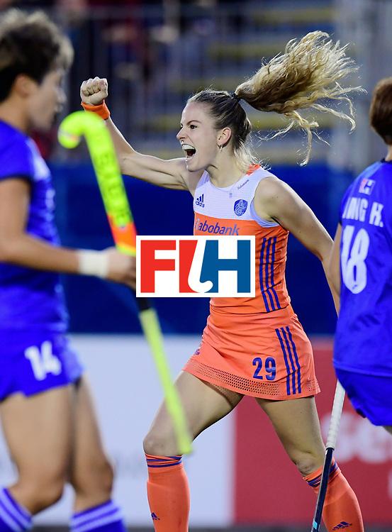 AUCKLAND - Sentinel Hockey World League final women<br /> Match id:<br /> 18 NED v KOR (Semi Final)<br /> Foto: Maartje Krekelaar <br /> WORLDSPORTPICS COPYRIGHT FRANK UIJLENBROEK