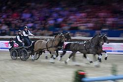 Exell Boyd (AUS)<br /> FEI World Cup Driving<br /> Flanders Christmas Jumping - Mechelen 2012<br /> © Dirk Caremans