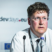 20160615 - Brussels , Belgium - 2016 June 15th - European Development Days - Spurring economic growth through private sector engagement - Jan Dijkstra , Managing Director , Global Head Emerging Markets FI , ING Bank Belgium © European Union