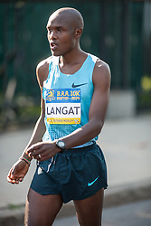 Boston Athletic Association 10K road race: Philip Langat, Kenya
