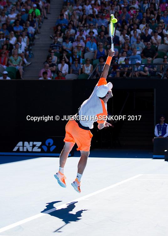 MISCHA ZVEREV (GER)<br /> <br /> Australian Open 2017 -  Melbourne  Park - Melbourne - Victoria - Australia  - 22/01/2017.
