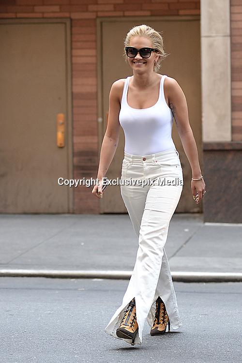 June 20, 2016 - New York, New York, United States -<br /> <br /> Rita Ora was seen in  Midtown Manhattan in New York City on June 20, 2016. <br /> &copy;Exclusivepix Media