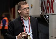 Pierre Emile Højbjerg (Danmark) ankommer til EM Kvalifikationskampen mellem Danmark og Gibraltar den 15. november 2019 i Telia Parken (Foto: Claus Birch).