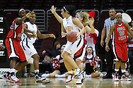 13 March 2010:   Toledo's Allie Clifton (11) during the MAC Tournament game basketball game between Ball State and Toledo and  at Quicken Loans Arena in Cleveland, Ohio.