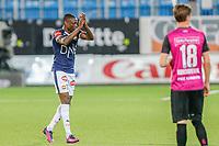 Fotball , 11. august 2019 , Eliteserien<br /> Strømsgodset - Vålerenga<br /> Muhamed Keita, Strømsgodset<br /> Foto: Christoffer Hansen , Digitalsport