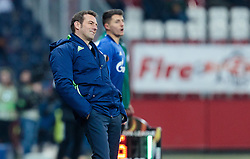 08.12.2016, Red Bull Arena, Salzburg, AUT, UEFA EL, FC Red Bull Salzburg vs Schalke 04, Gruppe I, im Bild Trainer Markus Weinzierl (FC Schalke 04) // Trainer Markus Weinzierl (FC Schalke 04) during the UEFA Europa League group I match between FC Red Bull Salzburg and Schalke 04 at the Red Bull Arena in Salzburg, Austria on 2016/12/08. EXPA Pictures © 2016, PhotoCredit: EXPA/ JFK