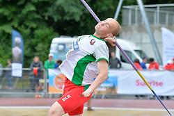 06/08/2017; Vasilevich, Dzmitry, F46, BLR at 2017 World Para Athletics Junior Championships, Nottwil, Switzerland