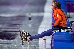 16-02-2018 KOR: Olympic Games day 7, PyeongChang<br /> 5000 meter schaatsen vrouwen / Met een sensationele race heeft Esmee Visser de olympische titel veroverd op de vijf kilometer.