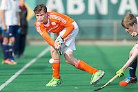 ROTTERDAM -   Joost van Eijck .  Practice Match  Hockey : Netherlands Boys U16  v England U16 . COPYRIGHT KOEN SUYK