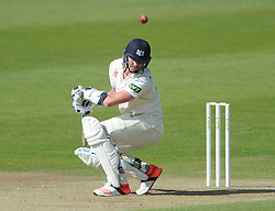 Liam Norwell of Gloucestershire ducks out of the way of the ball - Photo mandatory by-line: Dougie Allward/JMP - Mobile: 07966 386802 - 08/06/2015 - SPORT - Football - Bristol - County Ground - Gloucestershire Cricket v Lancashire Cricket Day 2 - LV= County Championship