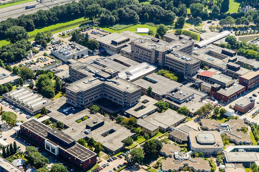 Nederland, Noord-Brabant, Tilburg, 23-08-2016; ETZ Elisabeth, Elisabeth-TweeSteden Ziekenhuis (ETZ) <br /> luchtfoto (toeslag op standard tarieven);<br /> aerial photo (additional fee required);<br /> copyright foto/photo Siebe Swart