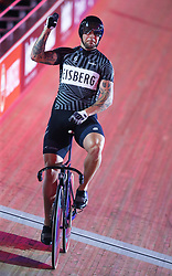 October 26, 2017 - London, England, United Kingdom - Edward Dawkins (NZL)..compete in the 200m Flying Time Trial during day three of the London Six Day Race at the  Lee Valley Velopark Velodrome on October 26, 2017 in London, England. (Credit Image: © Kieran Galvin/NurPhoto via ZUMA Press)