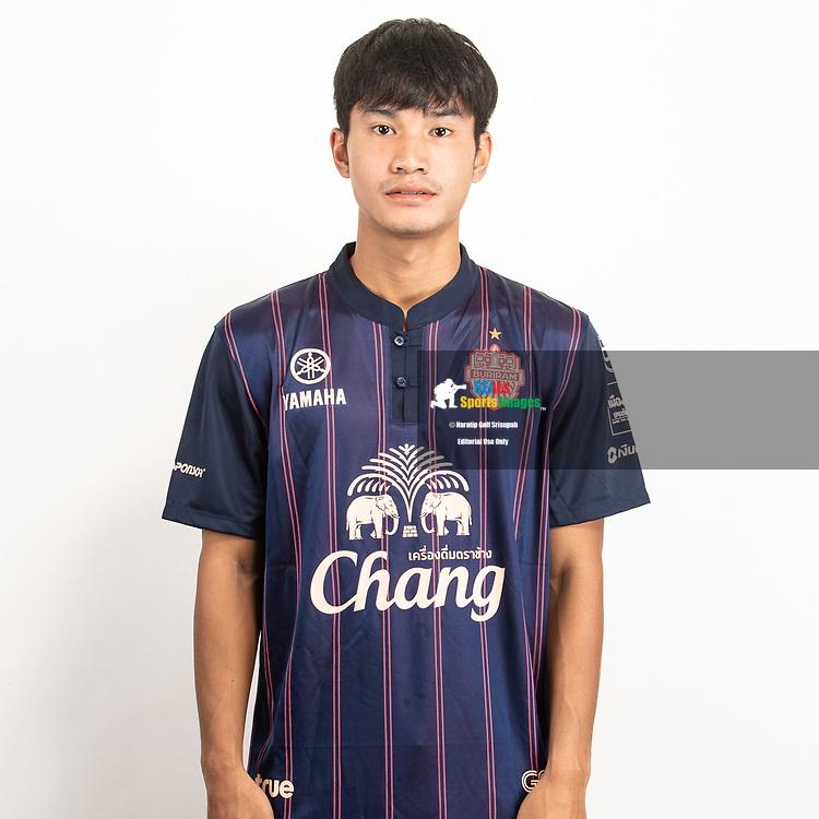 THAILAND - JUNE 26: Phongchana Kongkirit #55 of Buriram United on June 26, 2019.<br /> .<br /> .<br /> .<br /> (Photo by: Naratip Golf Srisupab/SEALs Sports Images/MB Media Solutions)