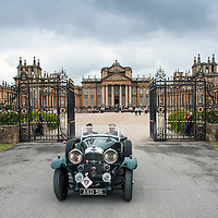 James Mann and Andrew Mann in their Lagonda M45 T5 Body   on the Royal Automobile Club 1000 Mile Trial 2015