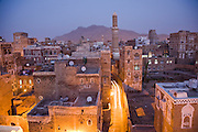 At dusk, the skyline of Sanaa, Yemen's capital, is a rough blend of the old and the new, with satellite dishes perched on the roofs of ancient buildings.