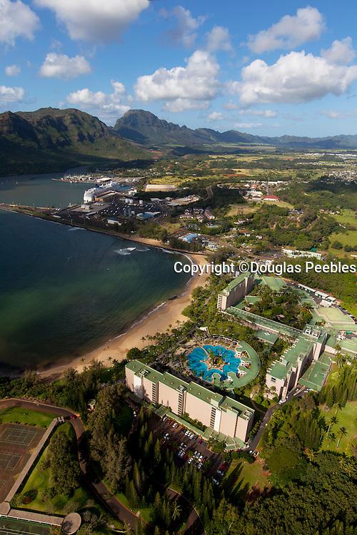 Kalapaki Beach, Nawiliwili Harbor, Kauai, Hawaii