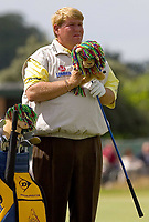 Golf<br /> Foto: SBI/Digitalsport<br /> NORWAY ONLY<br /> <br /> 2005 Open Championship, St. Andrews.<br /> Friday 15/07/2005<br /> <br /> John Daly and his fancy head covers