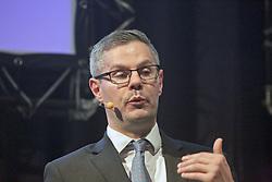 Pictured: <br /> <br /> Derek Mackay, Finance Secretary, addressed the conference<br /> <br /> Terry Murden | EEm 6 March 2019