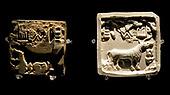 Harappa, Square, seal, 2000 BC