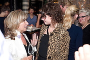 BARONESS HELENA KENNEDY;; JESSIE BUCKLEY;, Massimo's restaurant at the Corinthia Hotel, Whitehall  host the after party  for 'Claire Rayner's benefit show' 5 June 2011. <br /> <br />  , -DO NOT ARCHIVE-© Copyright Photograph by Dafydd Jones. 248 Clapham Rd. London SW9 0PZ. Tel 0207 820 0771. www.dafjones.com.