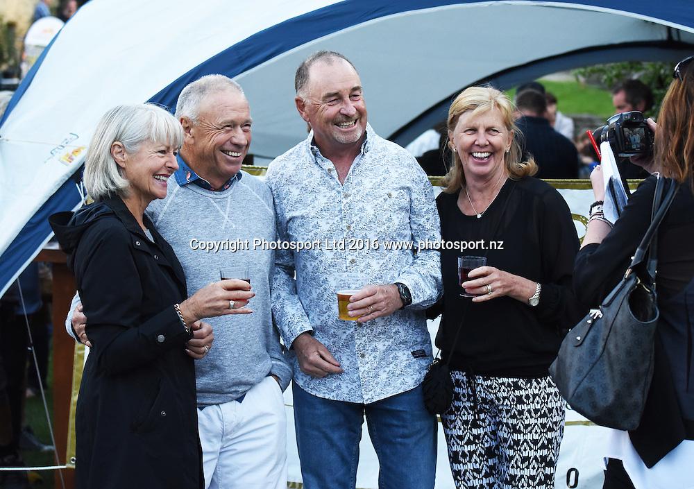 Arrowtown Street Party. 2016 BMW ISPS Handa New Zealand Open. Wednesday 9 March 2016. Arrowtown, New Zealand. Copyright photo: Andrew Cornaga / www.photosport.nz