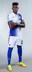 Rollin Menayese of Bristol Rovers - Ryan Hiscott/JMP - 22/08/2018 - FOOTBALL - Memorial Stadium - Bristol, England - Bristol Rovers Team Media Day