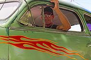 Car in Santa Cruz del Norte, Mayabeque, Cuba.