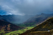 Great Langdale and the Langdale Pikes