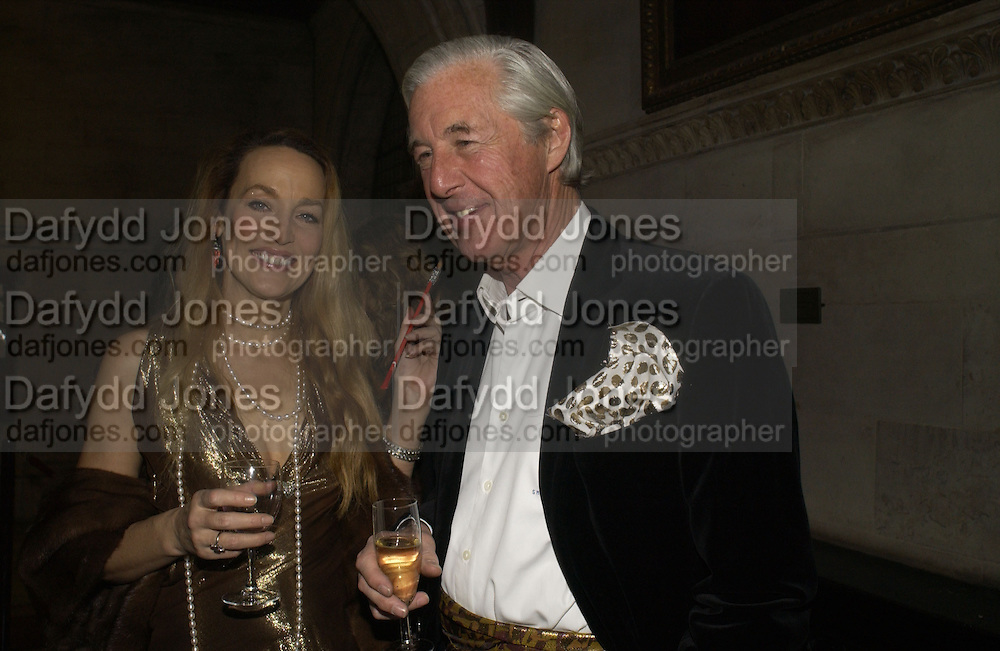 JERRY HALL AND MARTIN SUMMERSL. Andy and Patti Wong host  party to cleebrate then Chinese New Year of the Dog. Royal Courts of Justice. Strand. London. 28 January 2006. © Copyright Photograph by Dafydd Jones 66 Stockwell Park Rd. London SW9 0DA Tel 020 7733 0108 www.dafjones.com