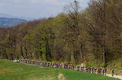 Peloton during International cycling race 3rd Adria Mobil Grand Prix, on April 2, 2017 in Novo mesto and neighbourhood, Slovenia. Photo by Vid Ponikvar / Sportida