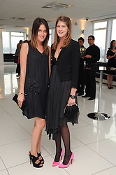 Left to right, VIOLET VON WESTENHOLZ and PRINCESS FLORENCE VON PREUSSEN at The Reuben Foundation and Virgin Unite Haiti Fundraising dinner held at Altitude 360 in Millbank Tower, London on 26th May 2010.